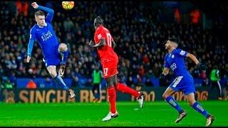 getlinkyoutube.com-Riyad Mahrez vs Liverpool 02 02 2016 كل ما فعله رياض محرز ضد ليفربول