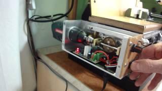 getlinkyoutube.com-power feed for Warco WM14 milling machine, homemade