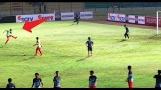 getlinkyoutube.com-Evan Dimas dkk Pamer SHOOTING SKILL Sebelum Pertandingan dimulai
