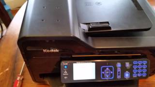 """getlinkyoutube.com-Fixed! Kodak ESP 9 Printer Carriage Jam (via a Mysterious """"Paper Jam"""")"""
