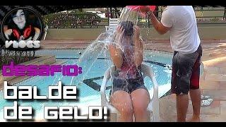 CarolzinhaSG - #DesafioDoGeloELA (Ice Bucket Challenge)