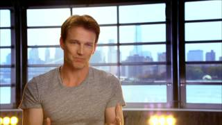 "getlinkyoutube.com-The Sound of Music Live: Stephen Moyer ""Capt. Georg Von Trapp"" On Set TV Interview"