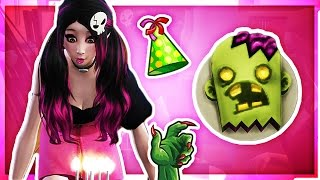 getlinkyoutube.com-ZOMBIE BIRTHDAY PARTY // The Sims 4: Monster High (Part 42)