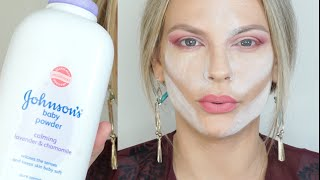 Beauty Hacks Tested |Baby Powder|