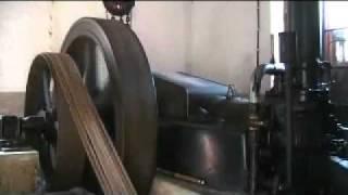 getlinkyoutube.com-MARSHALL diesel engine generator start-up
