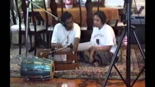 Akshaya Mohanty rehearsing Mathia Re Gote Kana