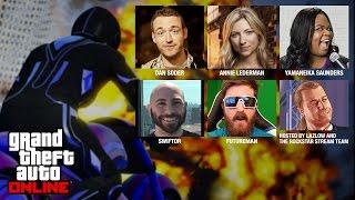 getlinkyoutube.com-GTA Online with Dan Soder, Annie Lederman, Yamaneika Saunders, Swiftor and Futureman