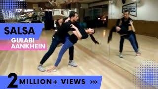 getlinkyoutube.com-Gulabi Aankhen   Learn Salsa on Bollywood Song