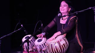 Anuradha Pal performs during the Women in the World India