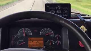 getlinkyoutube.com-Volvo Semi Truck Top speed 90MPH/141Km
