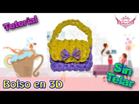 ♥ Tutorial: Bolsito en 3D de gomitas (sin telar) ♥