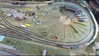 getlinkyoutube.com-Tennessee Central Railway Museum N Scale Model Railroad