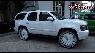 "getlinkyoutube.com-CUSTOM Chevy Tahoe on 32"" FORGIATOS - 1080p HD"