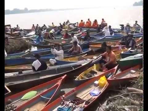 LOMBA MANCING UDANG GALAH Se-KALBAR 2014 DI SUNGAI RASAU