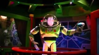 getlinkyoutube.com-Buzz Lightyear malfunctioning Disneyland Paris