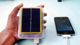 getlinkyoutube.com-DIY Solar Power Bank from Old Laptop Battery