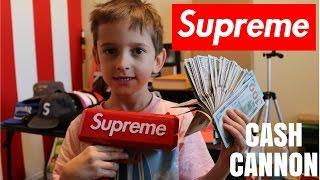$5,000 IN A SUPREME CASH CANNON (MONEY GUN BALLIN)