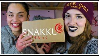 getlinkyoutube.com-SNAKKU BOX - Snack ai FAGIOLI AZUKI e MATCHA!