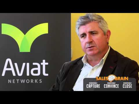 A SalesBrain Customer Story - Stuart Little, Director of Product Marketing at Aviat Networks