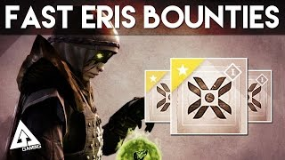 Destiny - Fastest Way to Complete Eris Morn's Bounties