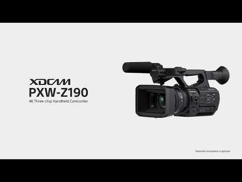 Sony PXW Z190 video introduttivo
