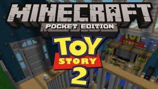 getlinkyoutube.com-TOY STORY MAP! - Minecraft Pocket Edition
