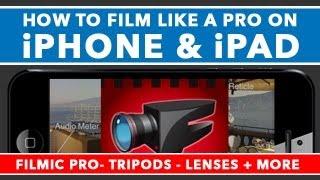 getlinkyoutube.com-How To Film Like A Pro On iPhone & iPad - Filmic Pro Tutorial