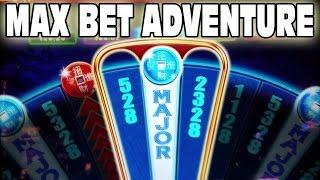 SLOT MACHINE MAX BET GAMBLING  ★  PUSH YOUR LUCK  ★  M RESORT CASINO