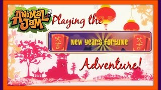 getlinkyoutube.com-Animal Jam: Playing The Aggravating New Year's Fortune Adventure! And Failing Miserably! XD
