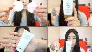 getlinkyoutube.com-【CrystalBeauty】日韩欧美8款人气CC霜试用分享~CC Cream Review: SK-II, Chanel, Banila Co. etc.