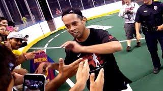 Ronaldinho Crazy Futsal Skills Show