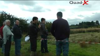 Blaney Agri Quad-X Tractor Machinery Demonstration 2012