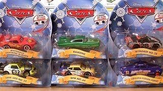 getlinkyoutube.com-Pixar Cars Holiday Edition Christmas 2014 Hudson Hornet Ramone Lenticular Eyes Disney car-toys