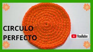 getlinkyoutube.com-Como tejer un circulo perfecto en tejido crochet tutorial paso a paso.