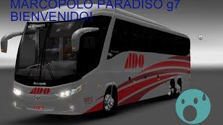 getlinkyoutube.com-Primer video,Bienvenidos a Bordo! /Euro Tuck Simulator 2/Marcopolo g7 1200/Ado