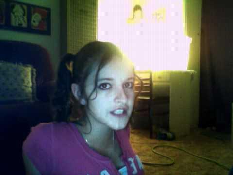 Candice nicole singing:)