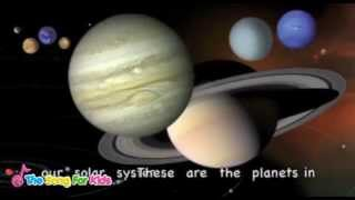 getlinkyoutube.com-The Planets Song - The Song For Kids Official