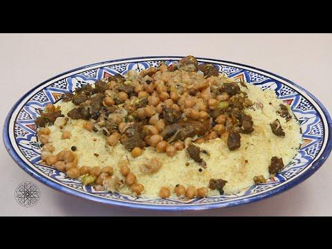 Choumicha : Couscous aux M'sakhen شميشة : كسكس بالمساخن