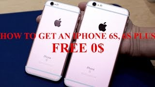 getlinkyoutube.com-How to Get an iPhone 6S Free ,6S Plus Free