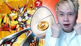 getlinkyoutube.com-Digimon Heroes - 30x Digi-Eggs Opening! Unbelievable!