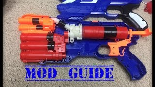 getlinkyoutube.com-The Nerf Mega/Elite Dual-Strike Mod Guide (Seal, Air Vents and Re-Grease)