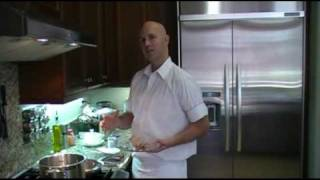 getlinkyoutube.com-How to prepare Chicken Cordon Bleu -- MAC and ME Cooking Show