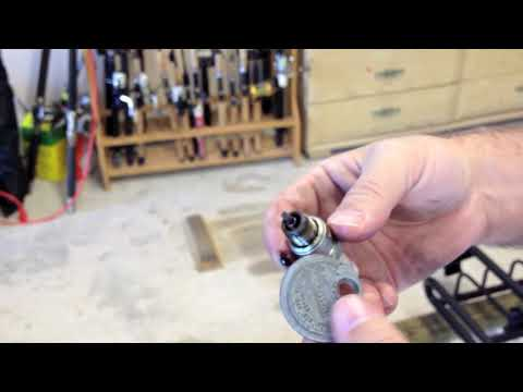 1996 Evinrude 150 Spark Plug and Thermostat Replacement Part 1 of 3