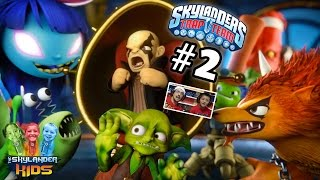 getlinkyoutube.com-Lets Play Skylanders Trap Team: Chapter 2 - Know It All Island w/ Slobber Trap, Tussel Sprout...