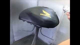 getlinkyoutube.com-バイクタンクの鏡面クリアー塗装の仕方