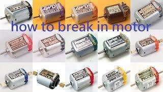 getlinkyoutube.com-Tamiya Mini 4wd Tutorial How to Break in a Brand New Motor