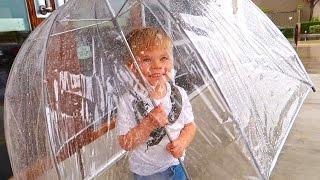 getlinkyoutube.com-TRAPPED IN RAIN STORM! ☔️