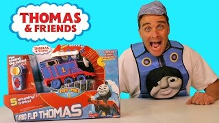 Thomas & Friends Turbo Flip Thomas ! || Toy Reviews || Konas2002