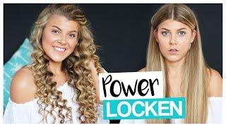 getlinkyoutube.com-POWER LOCKEN mit BILLIG LOCKENSTAB | COCO