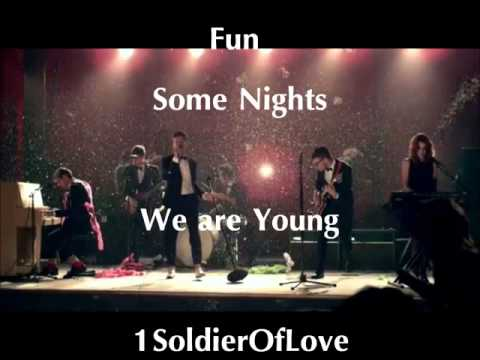 Fun   We Are Young   Letra en Inglés y Español